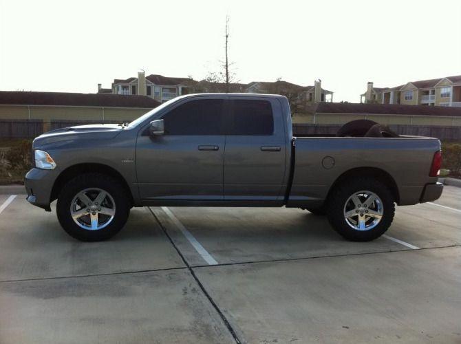 2012 Dodge Ram 1500 >> 2012 Ram 1500 4wd Quad Cab General Grabber 35/12.50R20 (1133) | User Rides 2 | Pinterest | Dodge ...