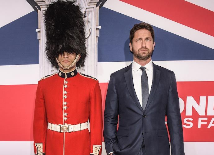 Gerard Butler Attends Premiere Of 'London Has Fallen'