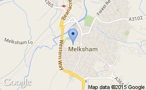 Location of Melksham Town Cricket Club Cricketer