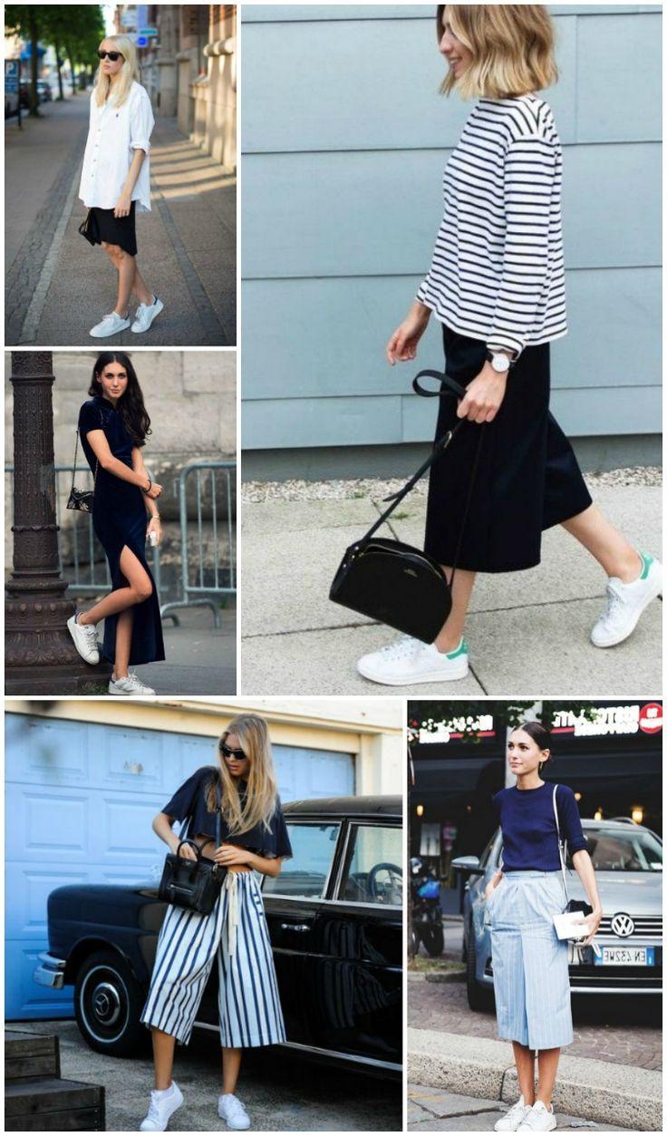 30 looks de Adidas brancos