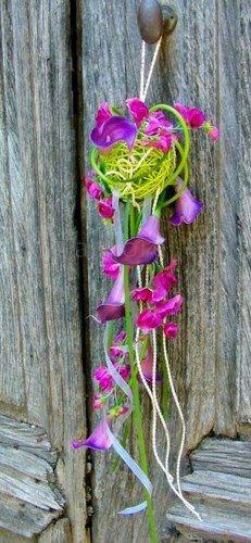 Bouquet de mariée tombant peps - Bouquets de mariée : bouquet mariage