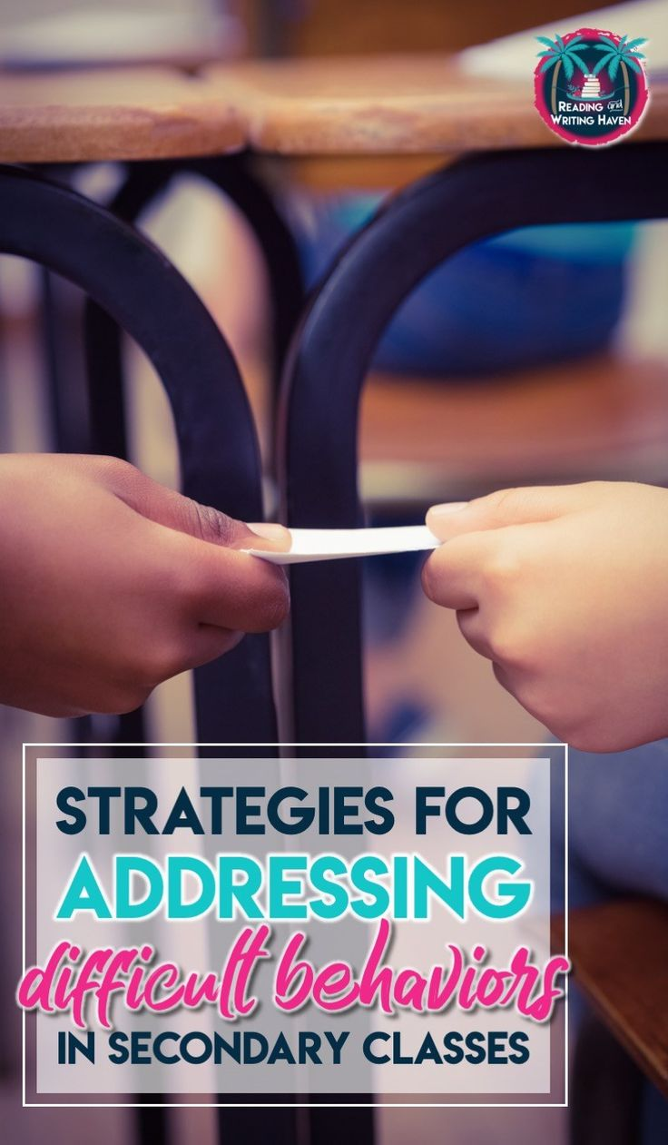 7 Classroom Management Strategies for Addressing Difficult Behaviors