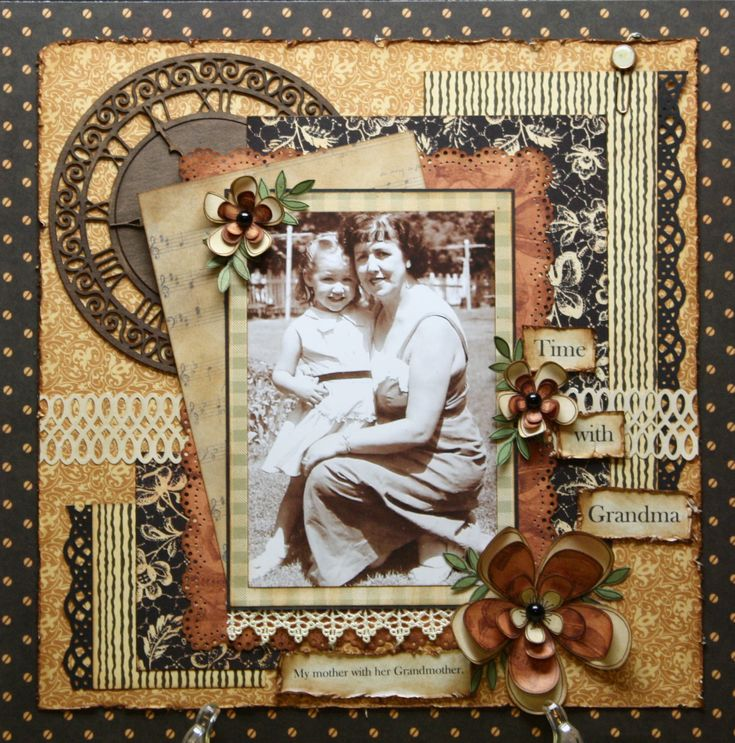old time photo ideas - 782 best Heritage Layouts Scrapbook images on Pinterest