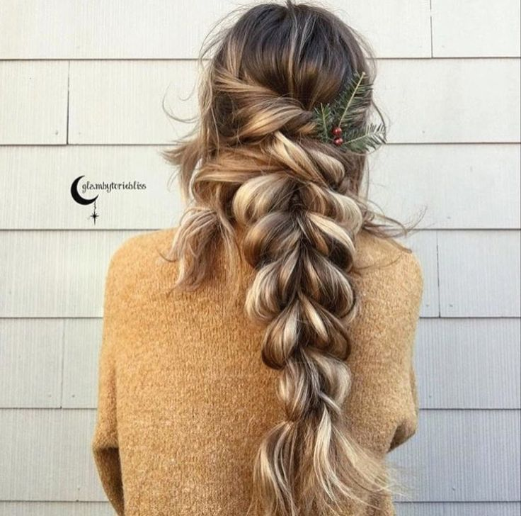 thick braid ideas