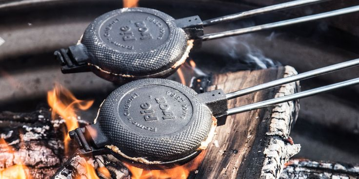 These cast iron pans will take your campfire cooking game to the next level.