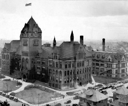 walter p. reuther library/ wayne state university - old main building