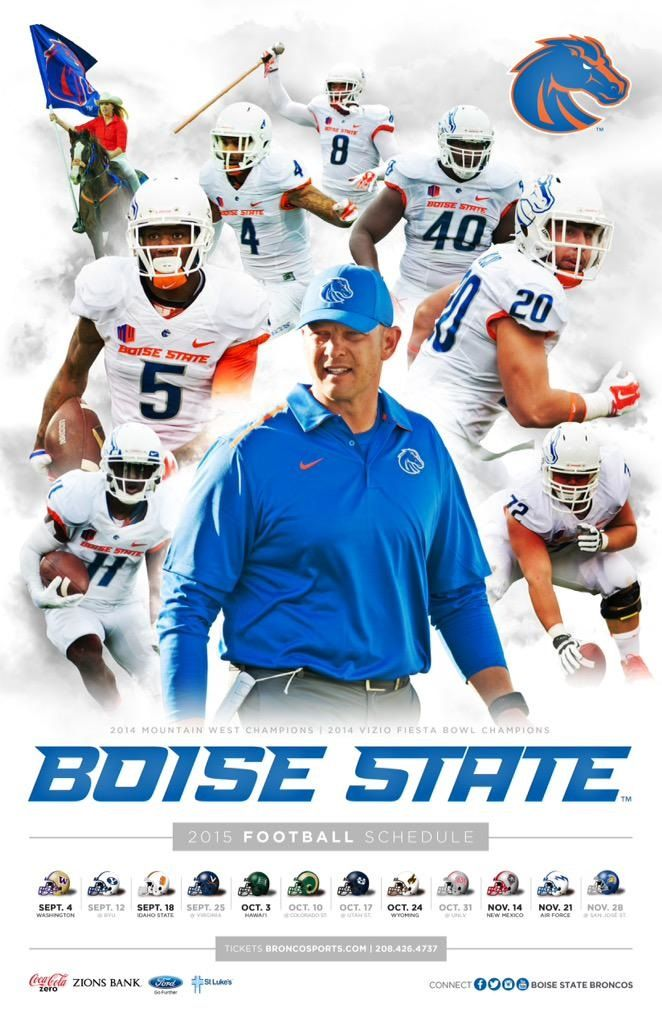 Boise State Football   Poster Swag