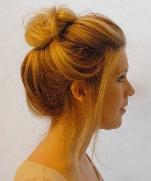 Impressive High Bun Hairstyles 2019 For Women For Prom Short Hair Bun Hair Styles High Bun Hairstyles