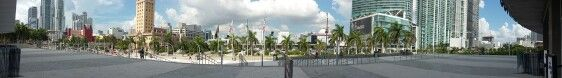View of Miami downtown from American Airlines Arena #Miami Heat