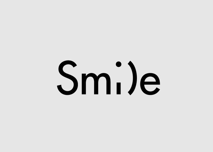 Smile, Word as Image de Ji Lee