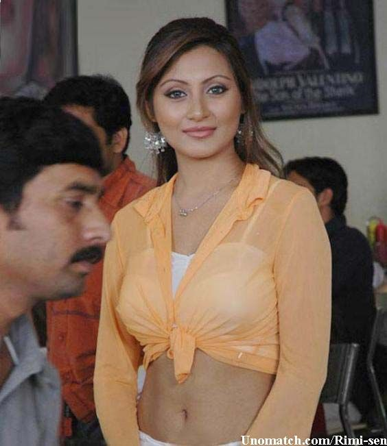 Rimi Sen (born Shubhomitra Sen; 21 September 1981) is an Indian actress who appears in Bollywood films. like : http://www.Unomatch.com/Rimi-sen/