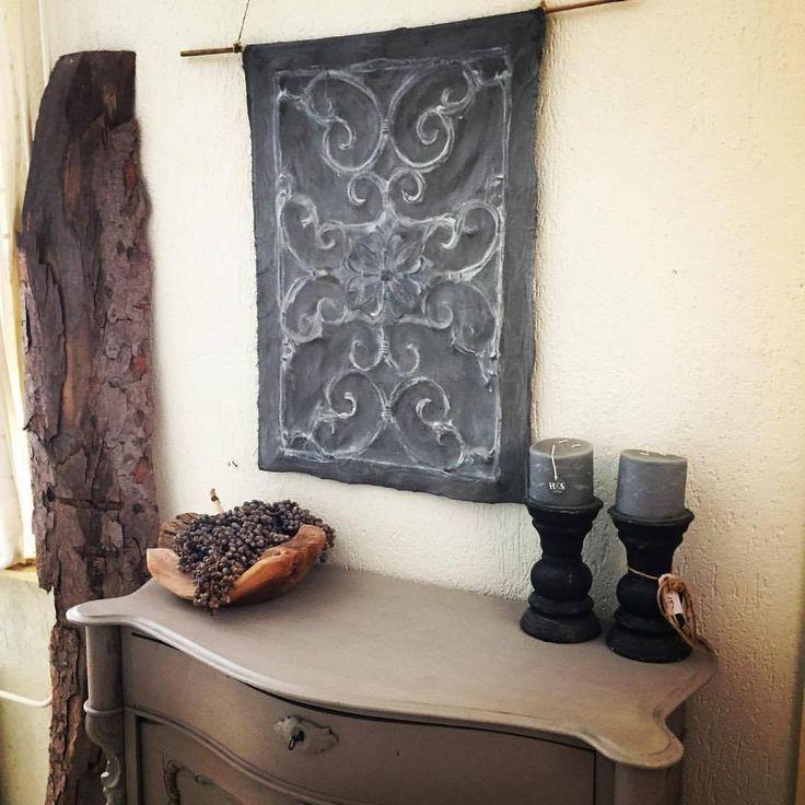 kalkdoek kalk cloth kalkverf miacolore ancientstone wanddoek wandschilderij madeby www.woonwinkel-van-toen.nl