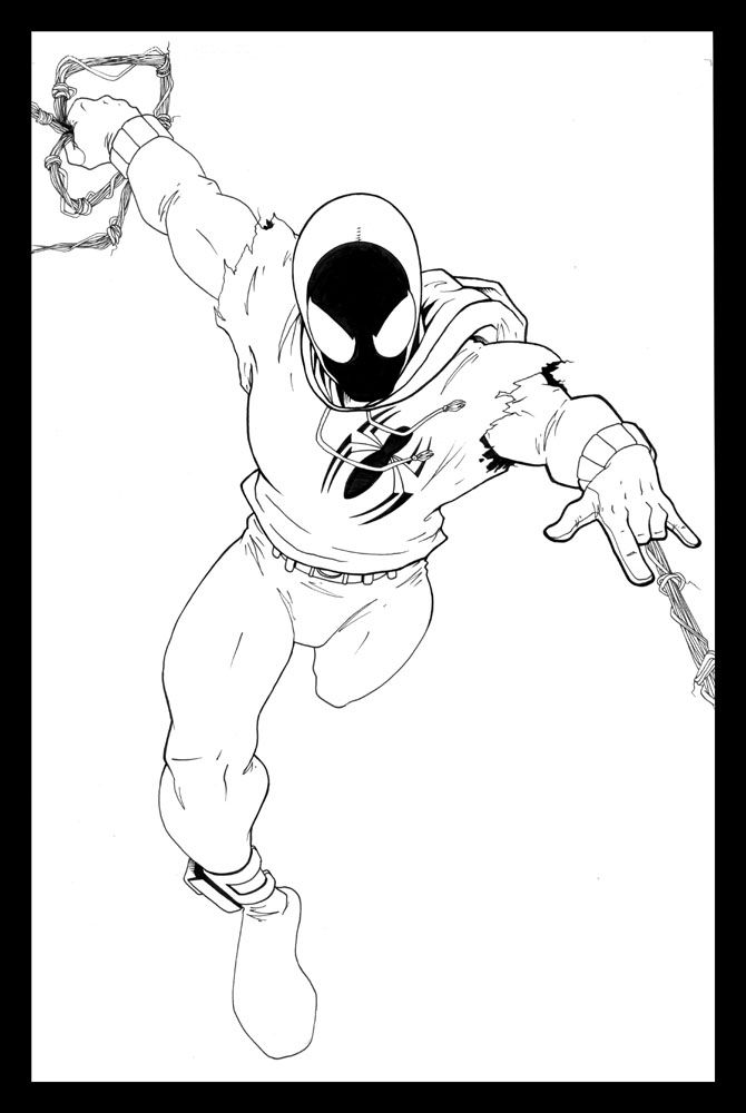 Scarlet Spider by ~ragelion on deviantART | Scarlet spider ...