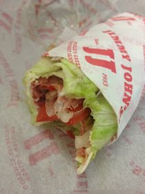 Low carb - Jimmy John's can make any sandwich an 'unsandwich' with lettuce instead of bread.