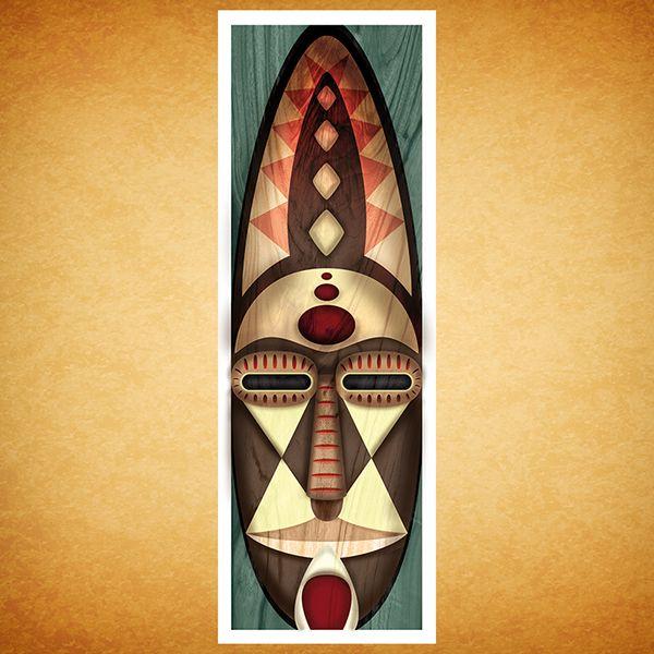 Máscaras Africanas on Behance