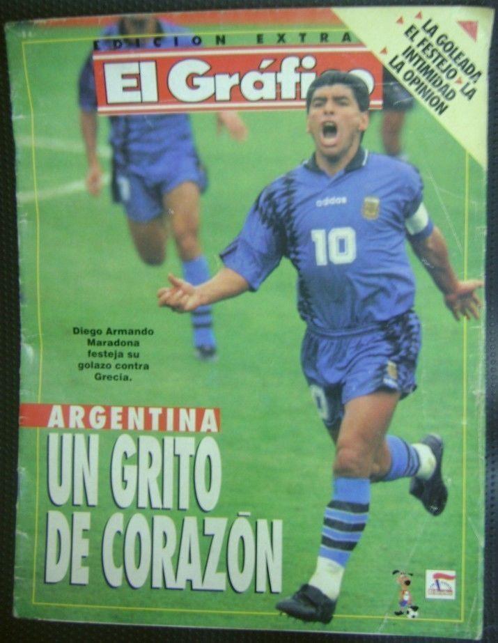 El Grafico Magazine Extra Edition Soccer World Cup USA 1994  | eBay