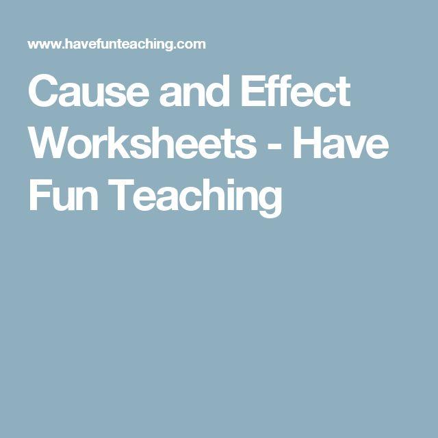 M 225 s de 1000 ideas sobre cause and effect worksheets en pinterest