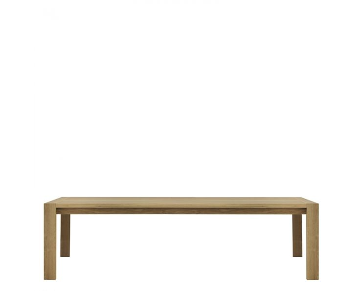 Nu Casa Dining Table with Solid Top (Oak) - Furniture | Weylandts