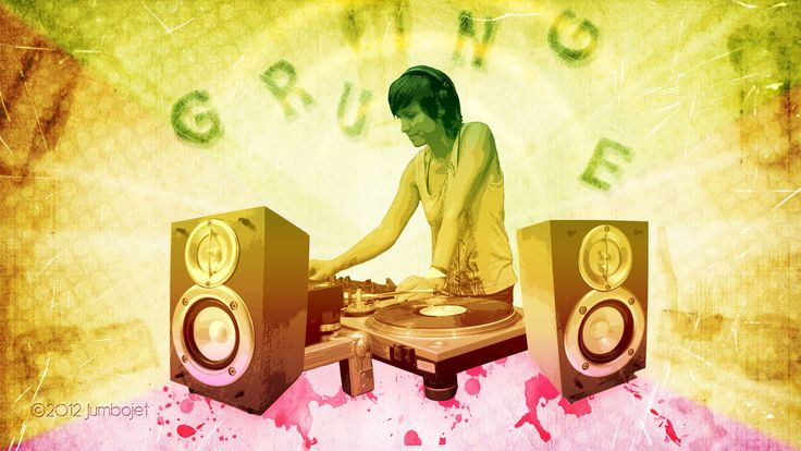 Grunge DJ wallpaper