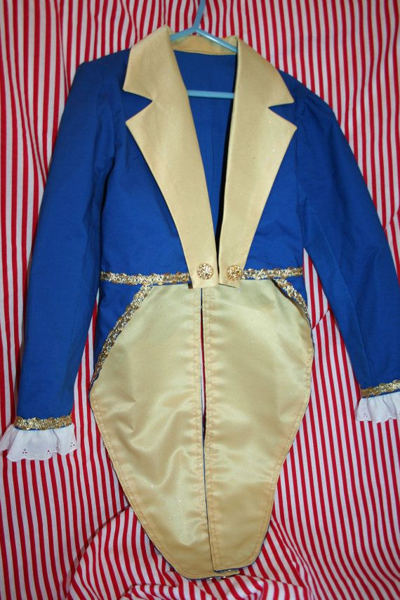 Beast Costume Child's Circus Ringmaster by CupcakesCottage on Etsy, $66.00  Sizes 4-10