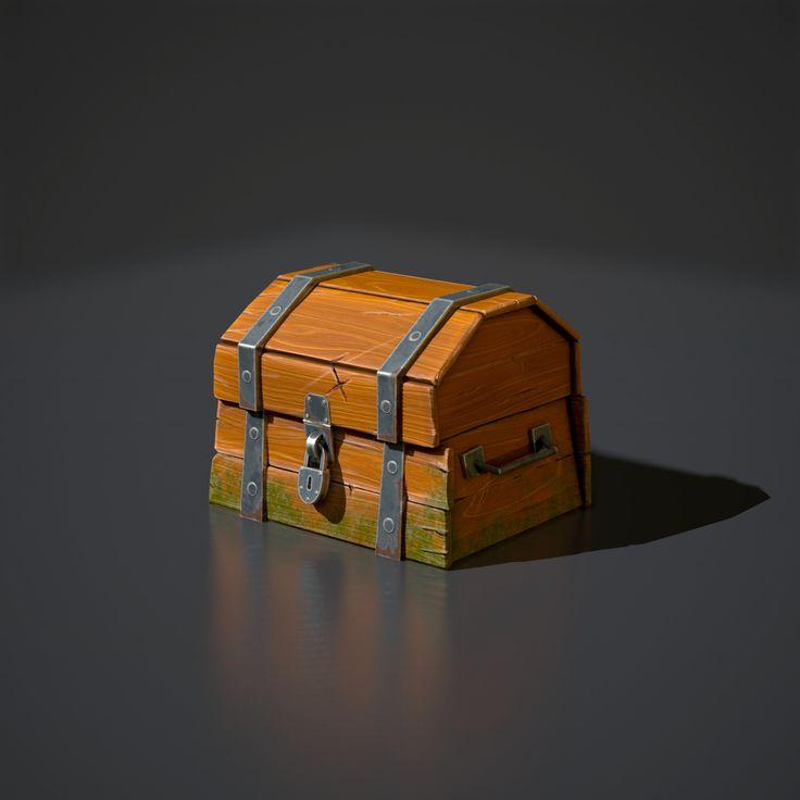 ArtStation - Treasure Chest , Theo Mills