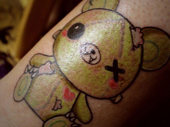 25 Sweet Teddy Bear Tattoos