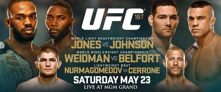UFC Announces Stacked UFC 187 Lineup Featuring Two Title Fights - http://www.scifighting.com/2015/02/19/38657/ufc-announces-stacked-ufc-187-lineup-featuring-two-title-fights/