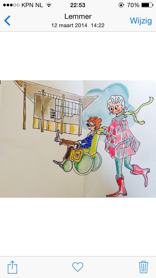 "Illustration ""Fries Museum"""