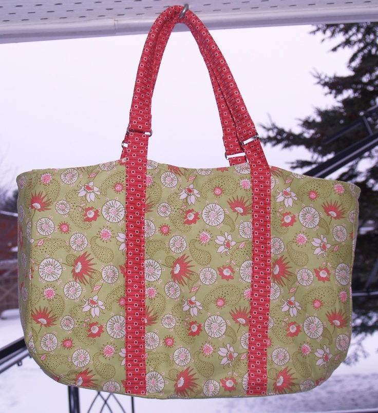 Large hand bag made from a Connecting Threads kit  http://www.connectingthreads.com/Quilting.cfm