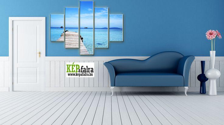 Tengerparti hangulatot csempészhetsz otthonodba modern vászonképekkel: http://www.kepafalra.hu/71-tengerparti-vaszonkepek