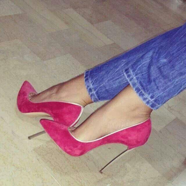 Pink Stilettos Shoegasm Pinterest Stilettos