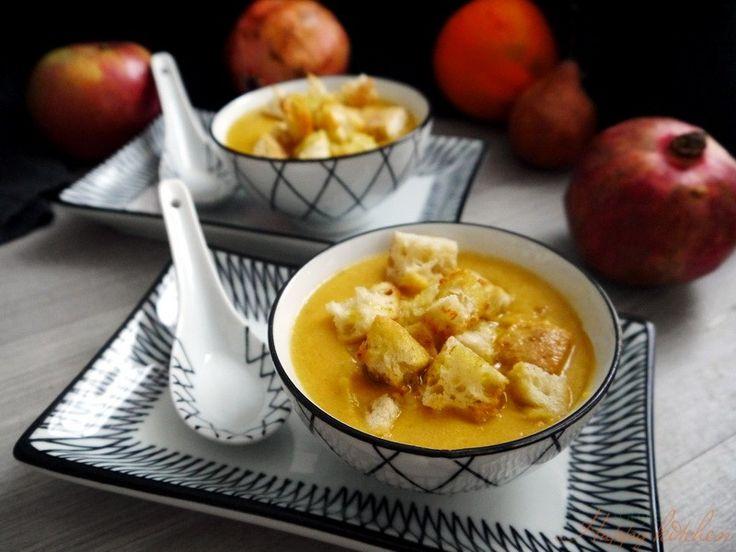 Vellutata di zucca e lenticchie rosse - Ricetta e preparazione: cucina salutare e vegetariana - Tony's Happy Kitchen