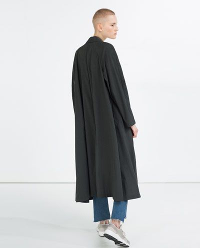 Image 1 de TRENCH LONG de Zara