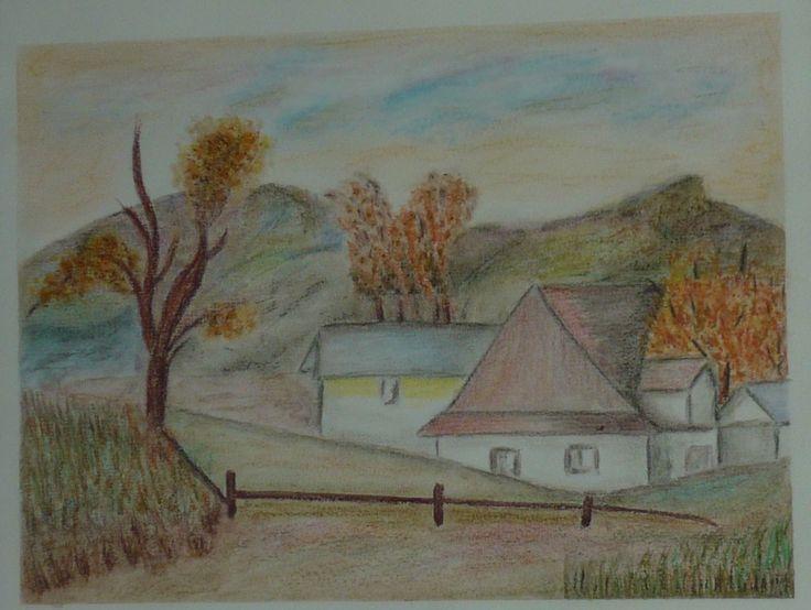 created by: Kovácsné Sz. Éva - landscape, pastel