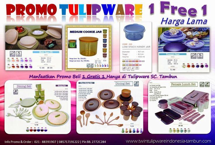Promo 1 Free 1 Harga Murah Mei 2014 | Twin #Tulipware SC. Tambun