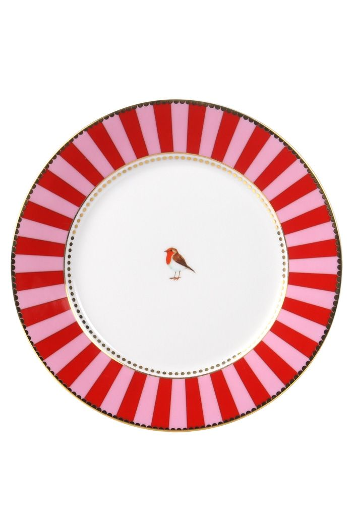 PiP Studio striped dessert plate