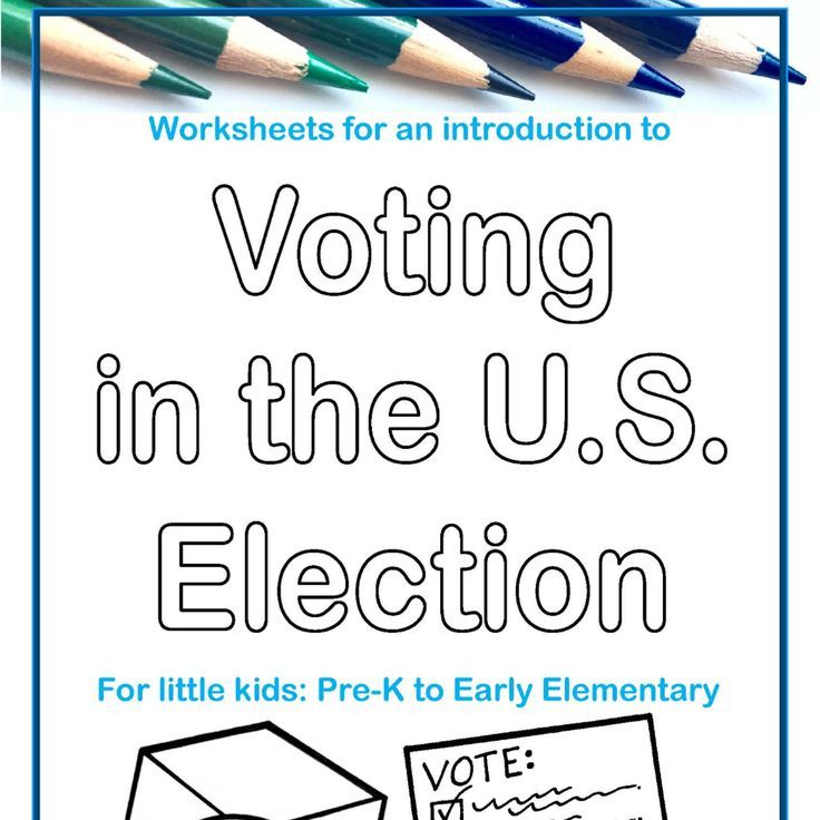 Pin On Activism And Activists Election worksheets for elementary students