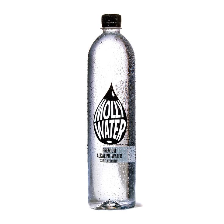 Our Molly Water Single Bottle 33.8 FL OZ (1 Liter) is is a premium magnesium alkaline mineral water designed to assist in regulating your body's pH balance.