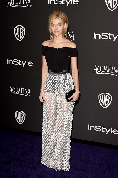 Nicola Peltz in Balenciaga – 2015 InStyle and Warner Bros. Golden Globe Awards Post-Party