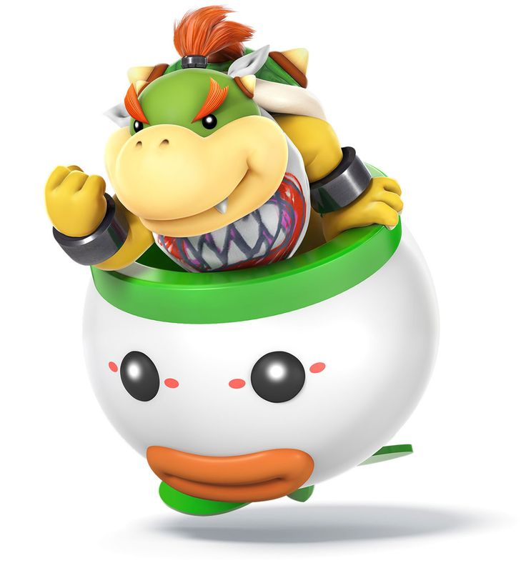 Bowser Jr - Characters & Art - Super Smash Bros. for 3DS and Wii U