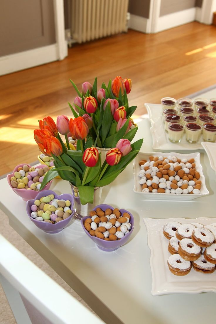 Easter morning tea and Easter Party Decorations | How to Decorate for your Easter Celebration