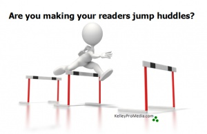 How many hurdles do your readers go over to leave a comment on your blog?