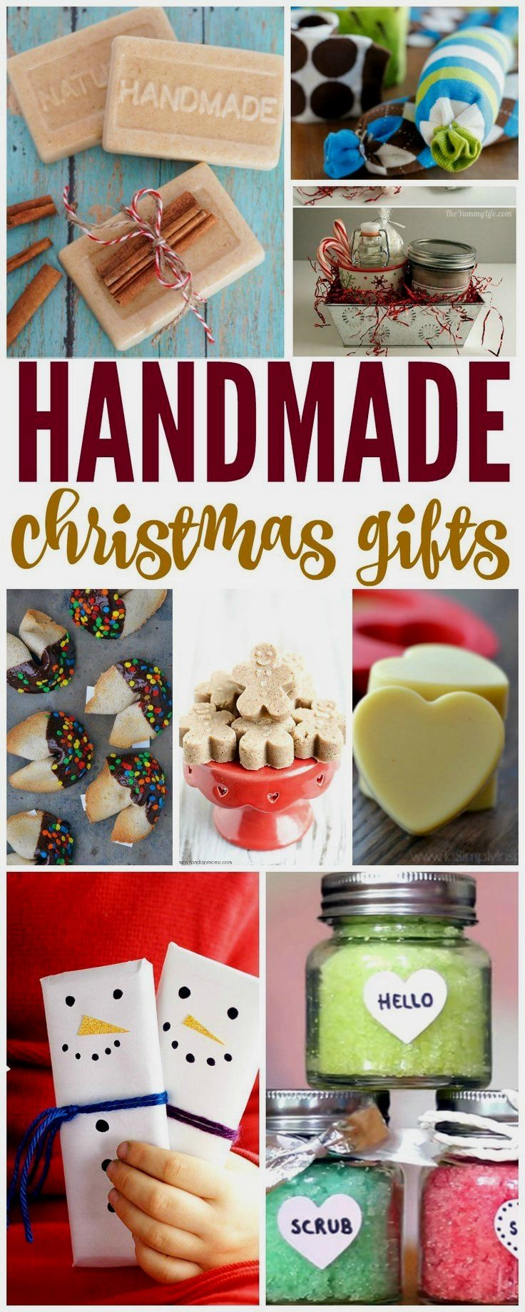 20 Handmade Christmas Gifts You Can Make For Less Than 5 In 2020 Homemade Christmas Gifts Christmas Gift You Can Make Diy Gifts Cheap