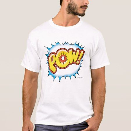 Blue POW! T-Shirt - click to get yours right now!