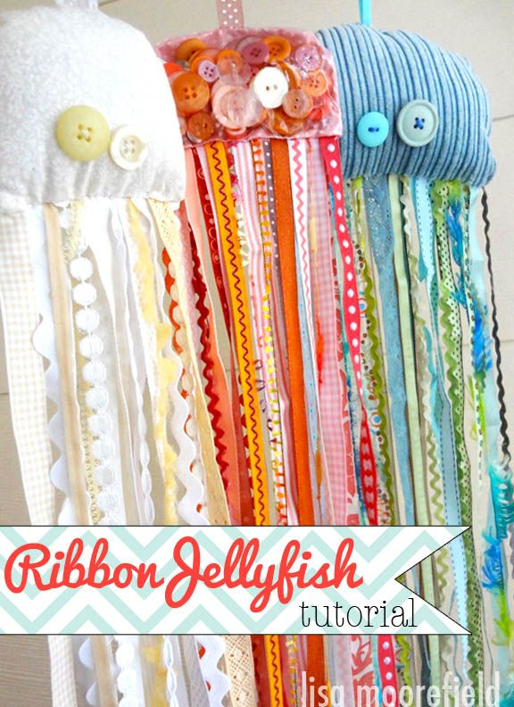 Ribbon Jellyfish Tutorial