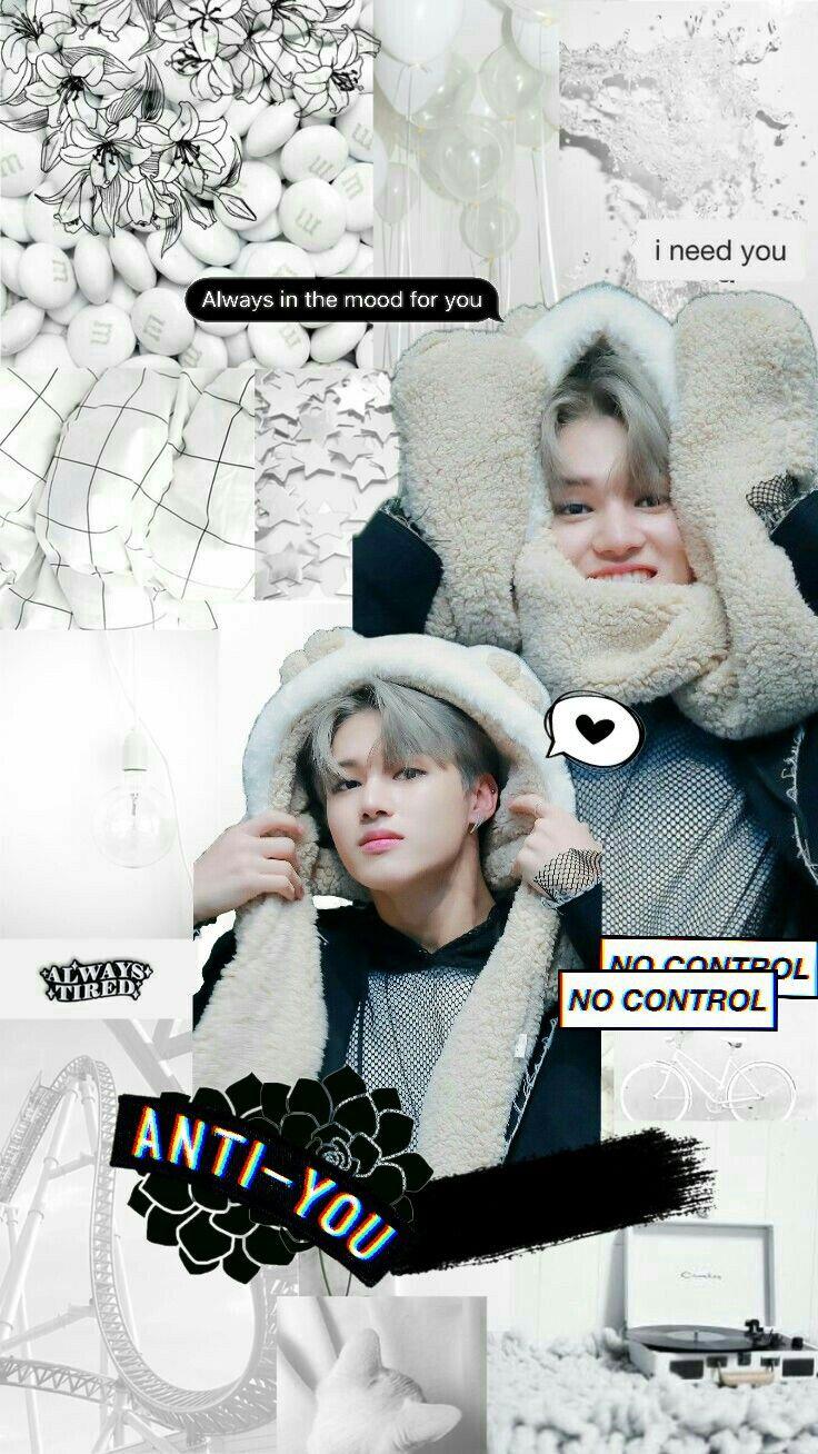 Kpop Ateez Wooyoung Wallpaper White In 2019 Kpop