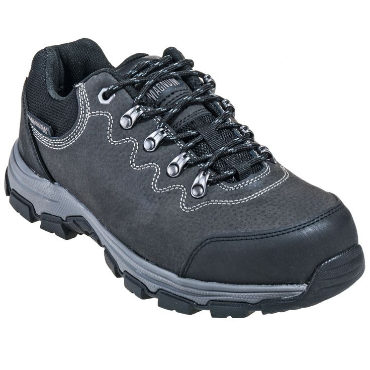 Magnum Boots Men's 5554 Low Steel Toe Charcoal Waterproof Athletic Shoes