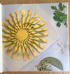 Livre de recettes tartes soleil