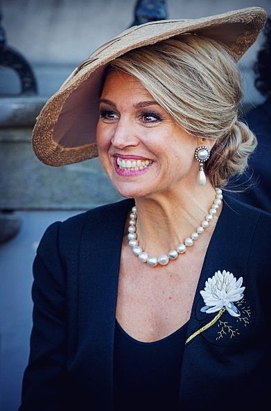 PRESIDENTIAL VISIT TO THE NETHERLANDS. Mauricio Macri and his wife, Juliana Awada, visited accompanied by Queen Maxima the house of Anne Frank. (REUTER)