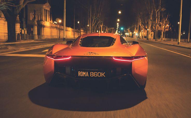 Jaguar CX75 James Bond 007 Spectre M Hinx